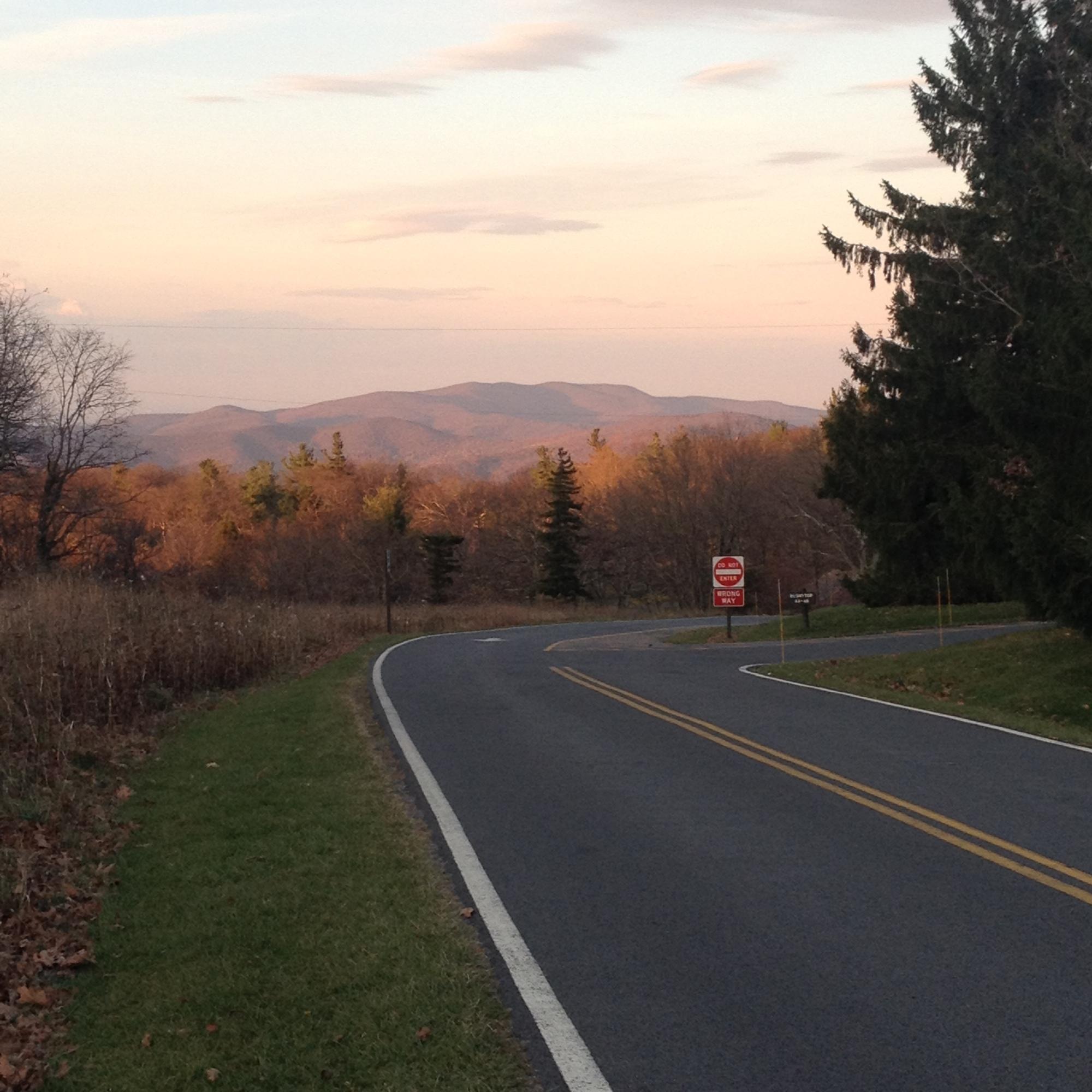 Shenandoah National Park, Skyline Drive, Fall, Road
