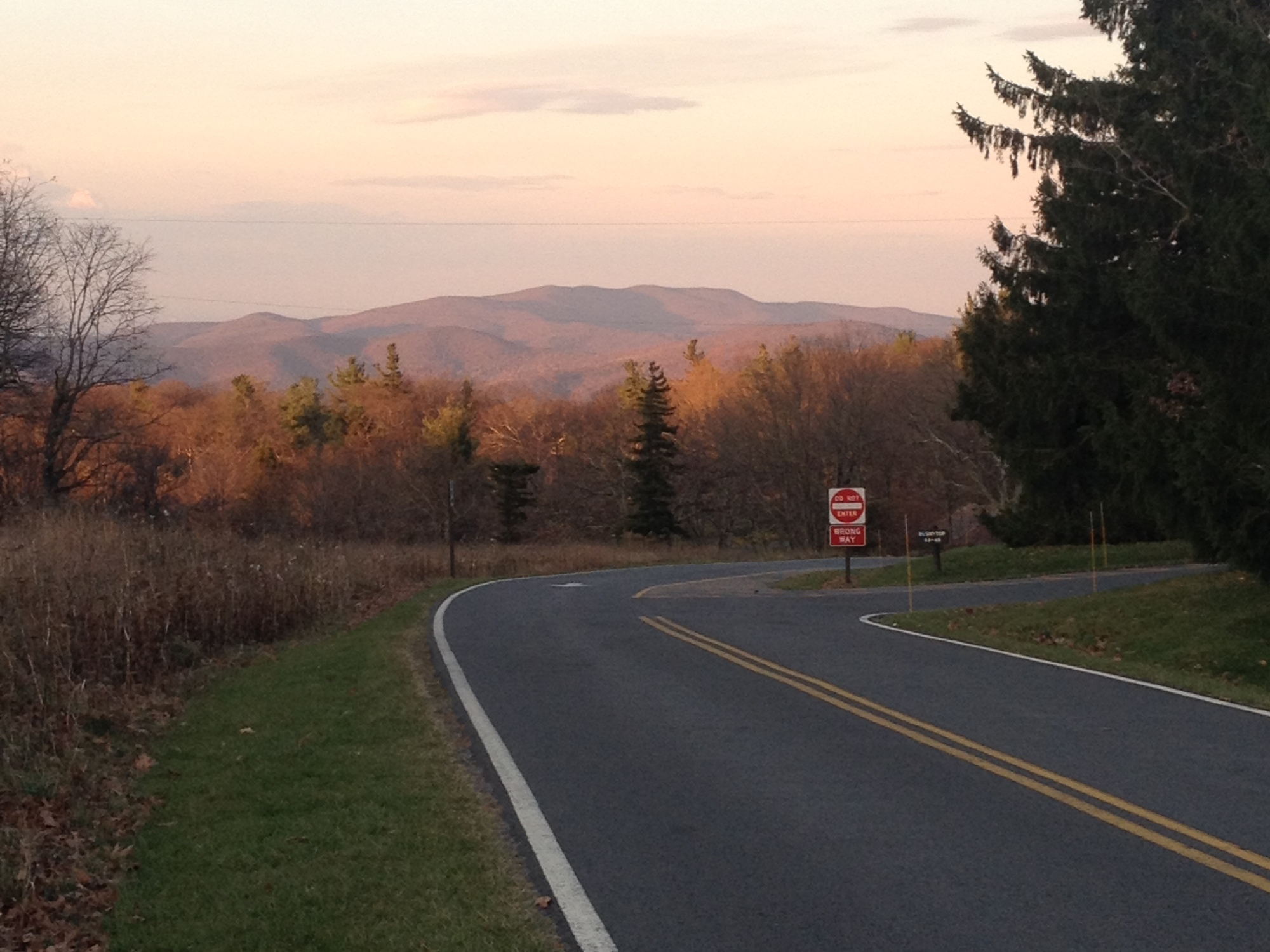 Shenandoah National Park, Skyline Drive, Fall, Road