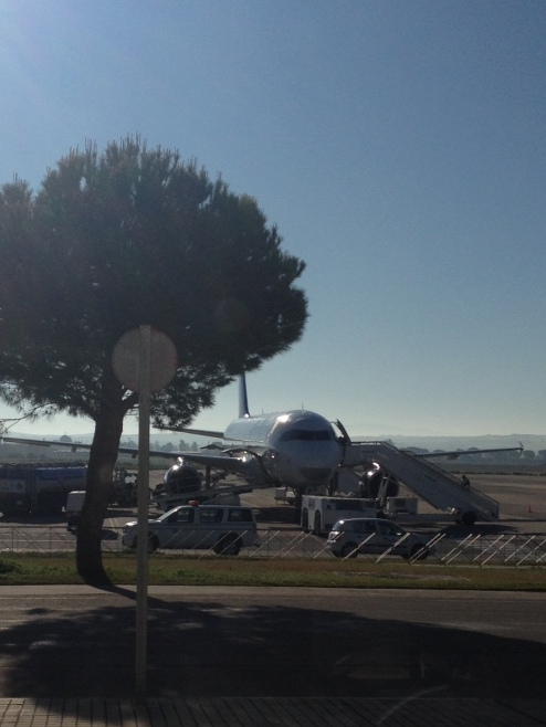 Condor A 320 ready for departure in XRY