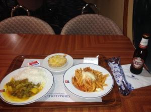 Soggy Pasta, Lukewarm Tajine with Bland Rice, Dry Tarte della Nonna