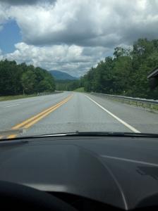 Straße in Vermont