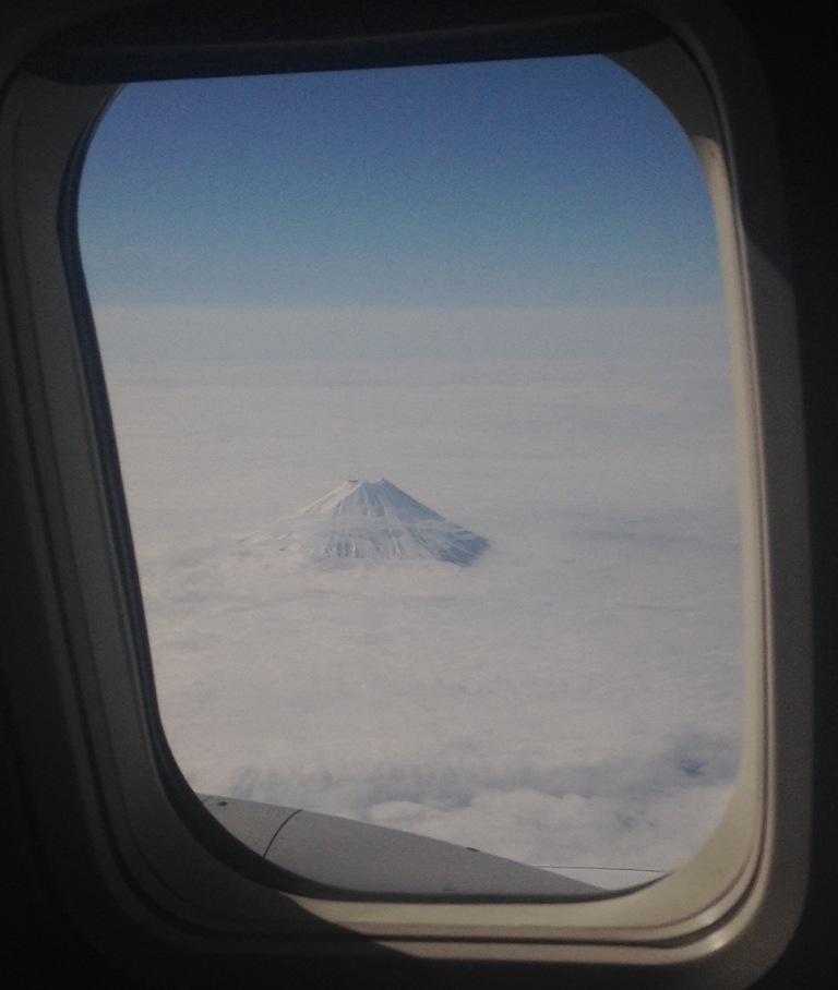Mt. Fuji en-route to Nagoya