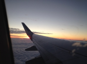 Sunset over Germany