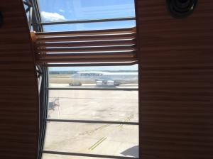 Air France Boeing 747 towed to gate at Paris CDG