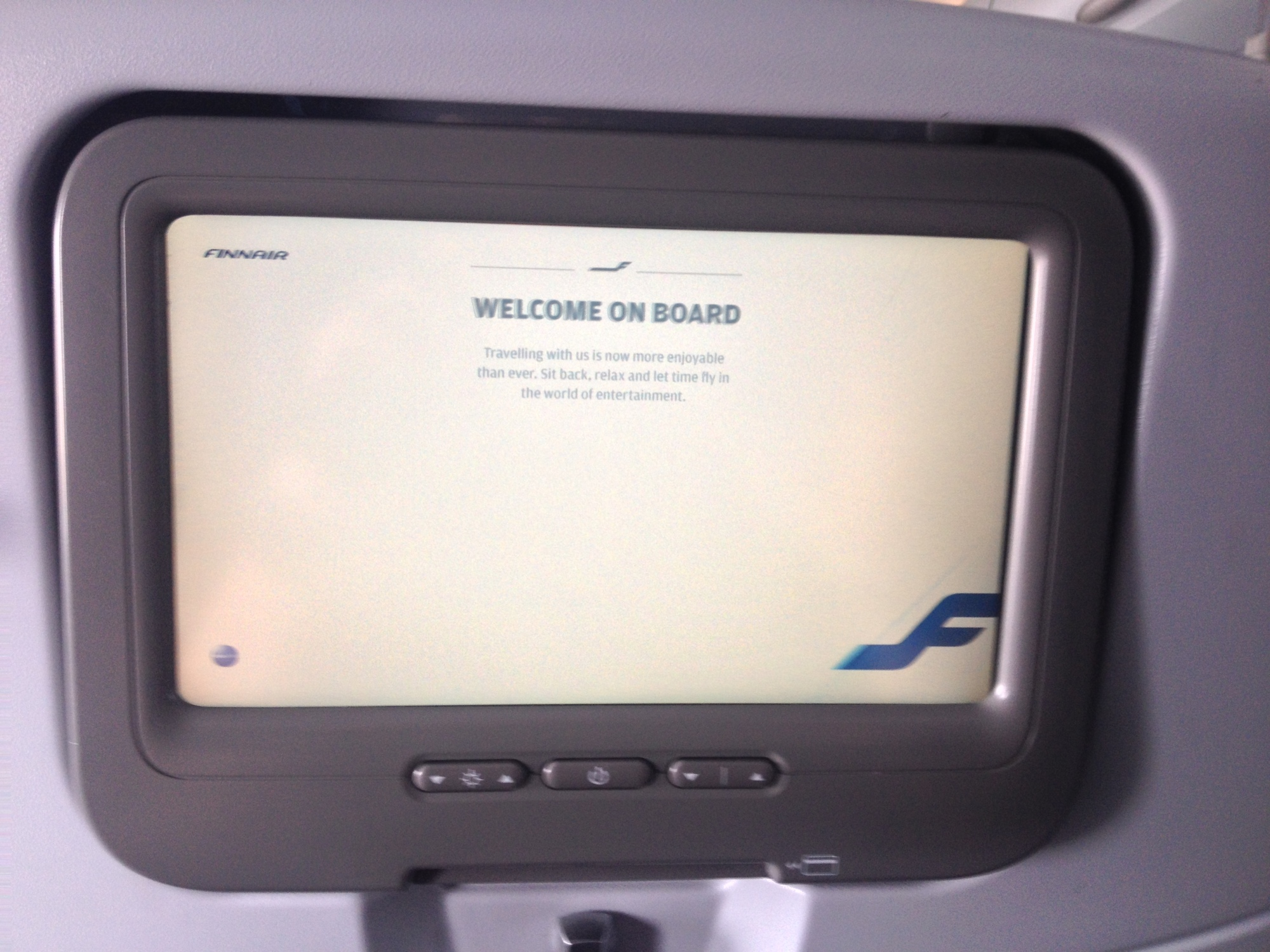 Welcome aboard Finnair
