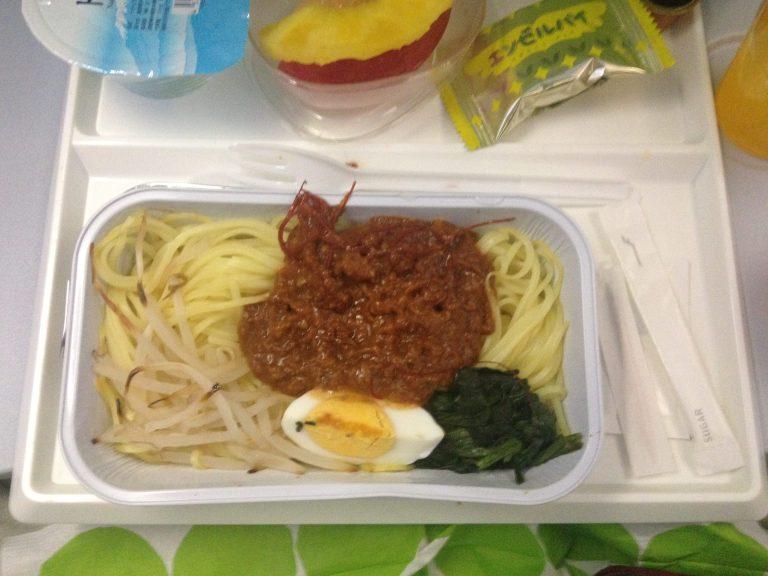 Japanese noodle dinner