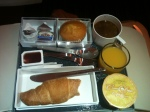Continental Breakfast - OJ, Yoghurt, Muffin and Croissant