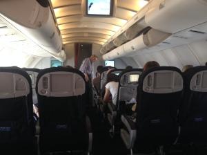 Upper Deck in Economy Configuration (AF Boeing 747-400)