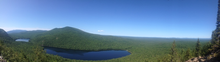 Blick vom North Traveller Gipfel