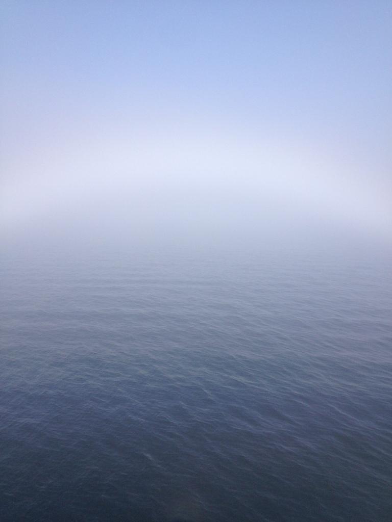 Nebel-Sonnenbogen