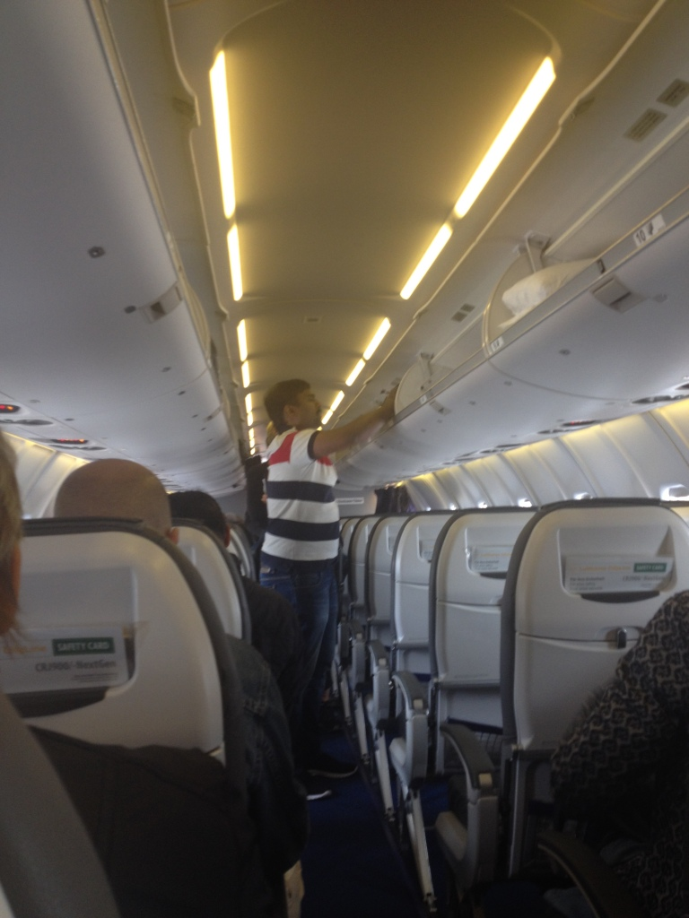 Seating on Lufthansa CRJ