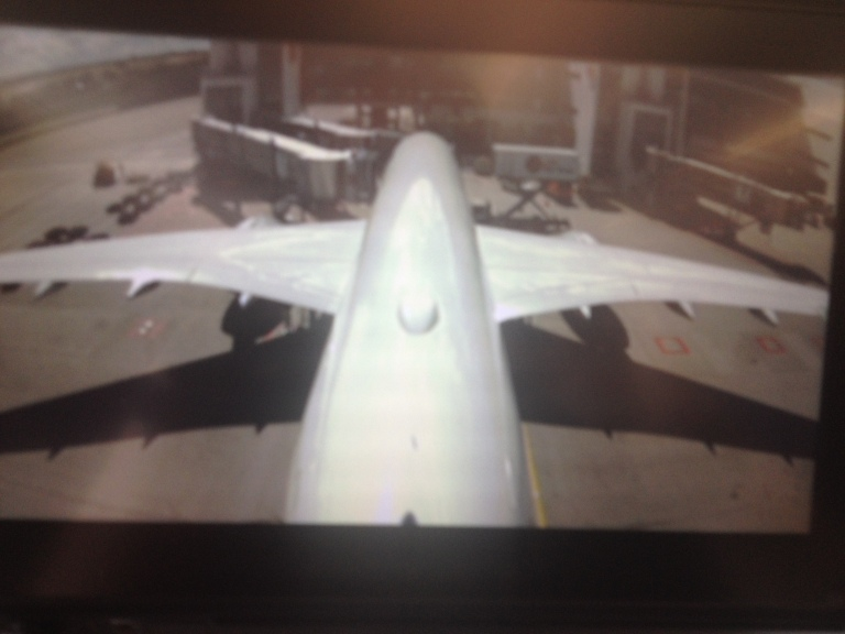 Tailcam on the A 350