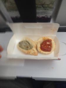 Lufthansa Pre-Arrival Snack