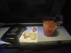 Campari and OJ - Lufthansa's Unofficial Signature Drink