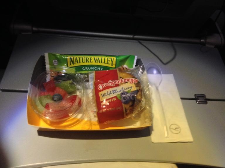 Lufthansa Light Breakfast