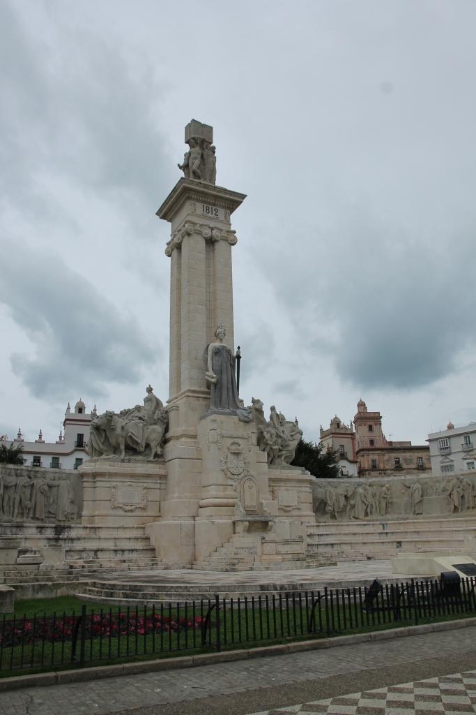 Verfassungsdenkmal auf der Plaza España