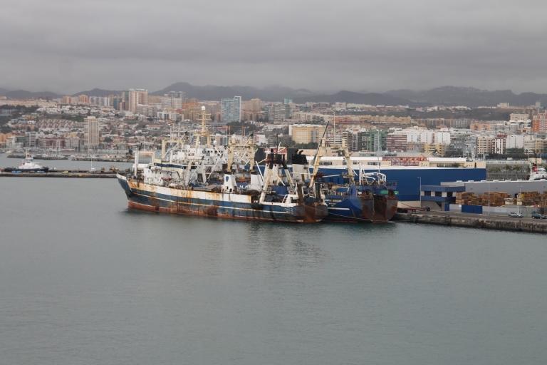 Der TÜV scheint hier abgelaufen, doch diese russichen Trawler fischen noch