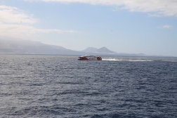 Katamaranfähre aus Teneriffa