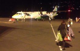 Binter Canarias ATR 72 waiting on the Tarmac