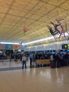 Check-in Hall at LPA Airport