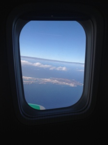 Climbing out of Las Palmas, Gran Canaria