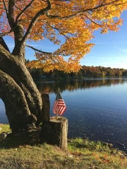Herbstlicher Patriotismus