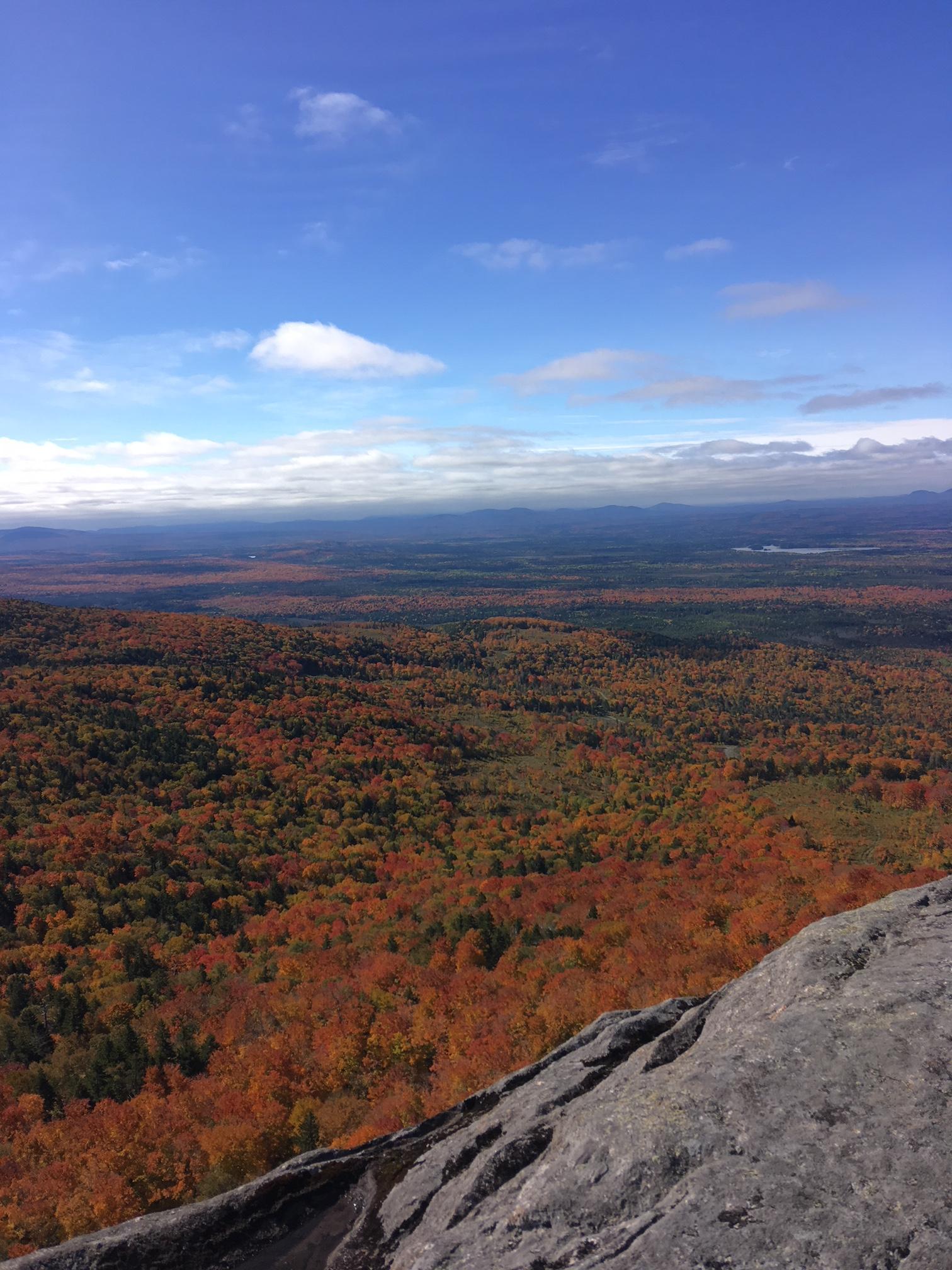 Blick von der Raven Ridge