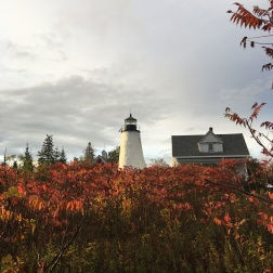 Dice Head Lighthouse, Castrine, ME, Okt. 2018