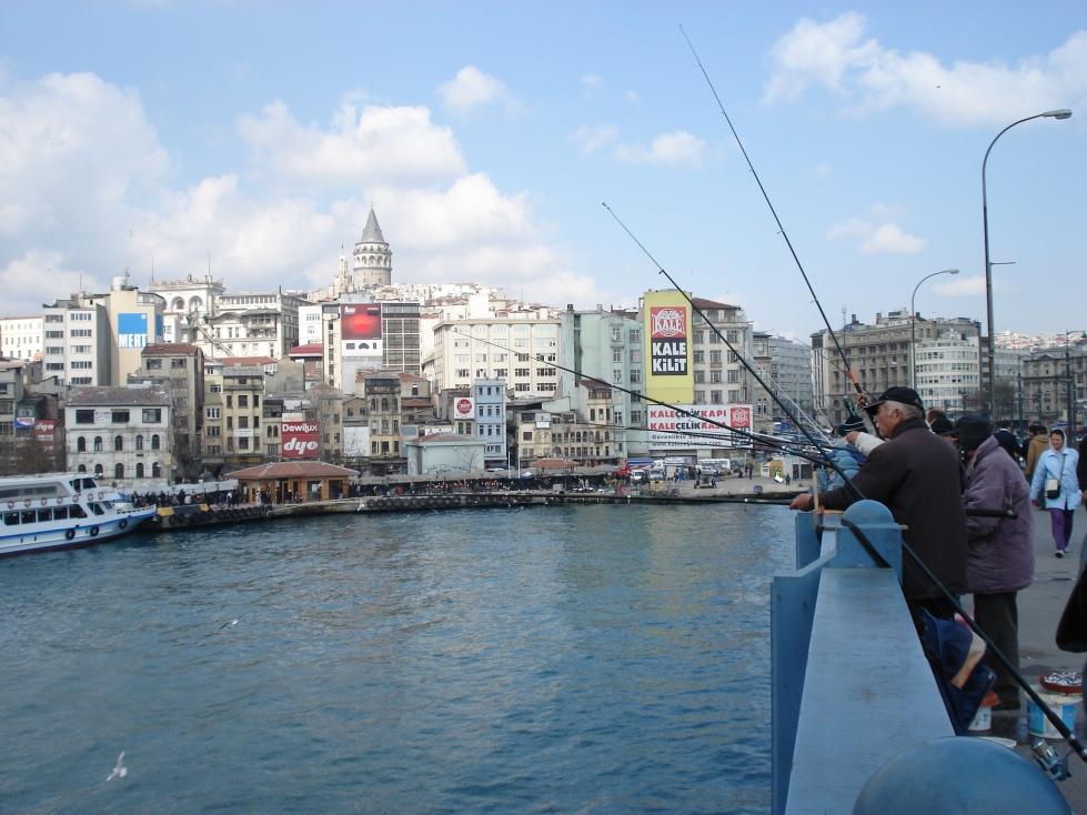 Istanbul Galata Bridge
