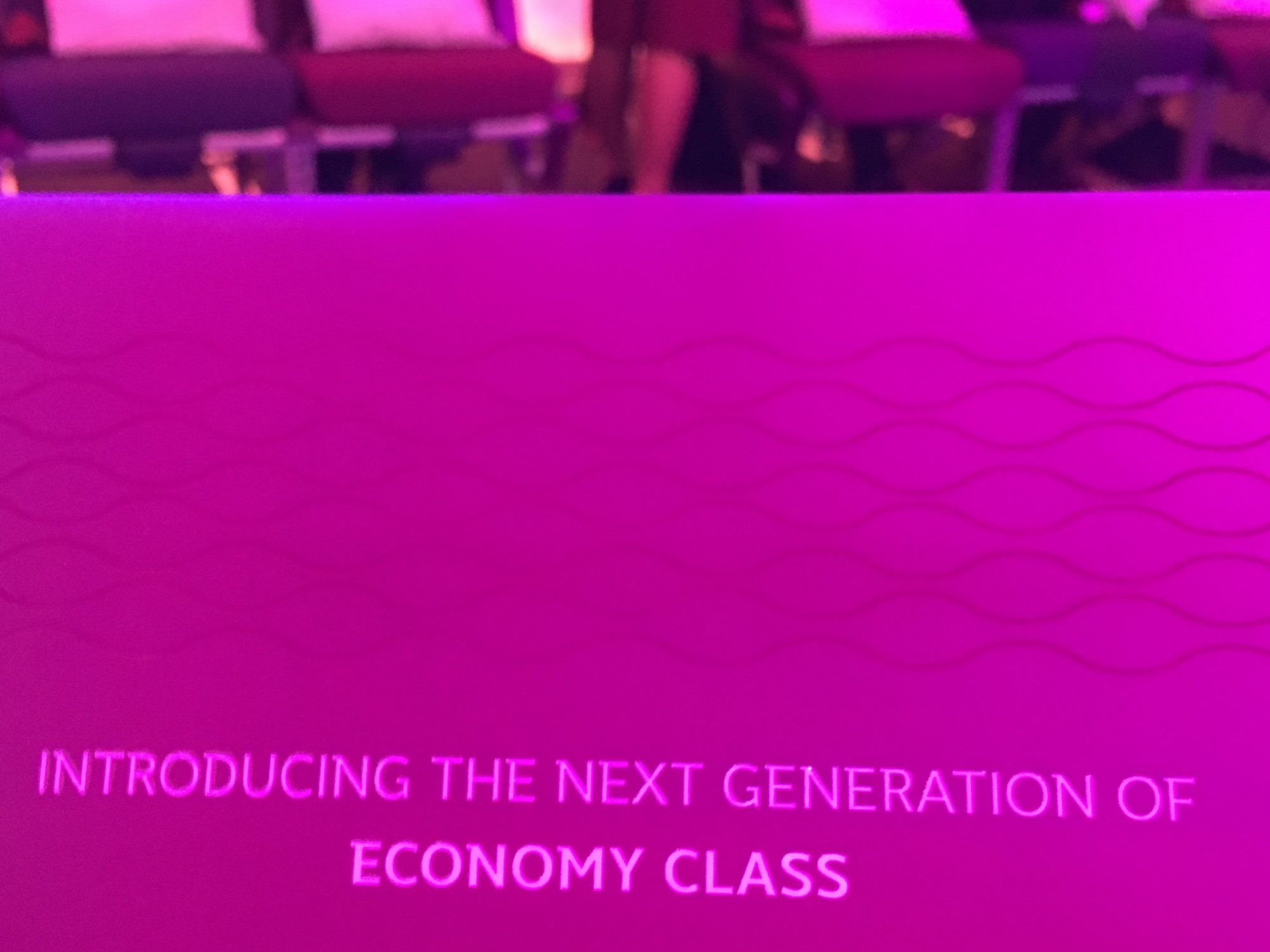 Qatar Airways' revolutionary new economy seat unveiled @itb_berlin