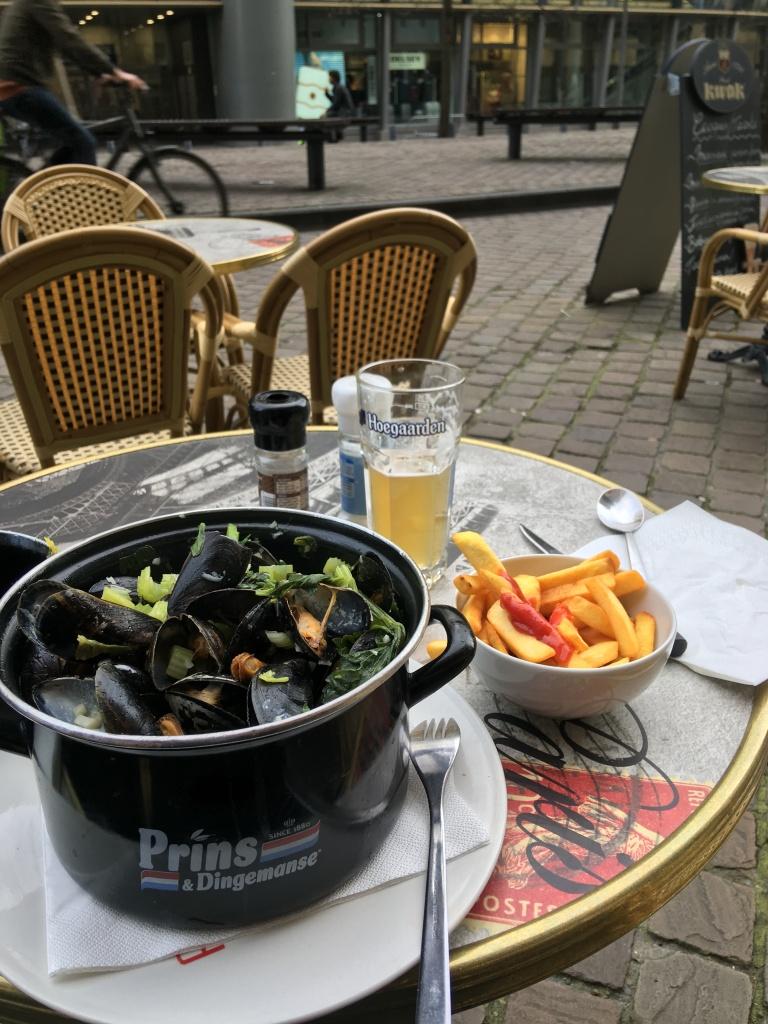 Zwischenstopp in Brüssel mit Belgischem Nationalgericht