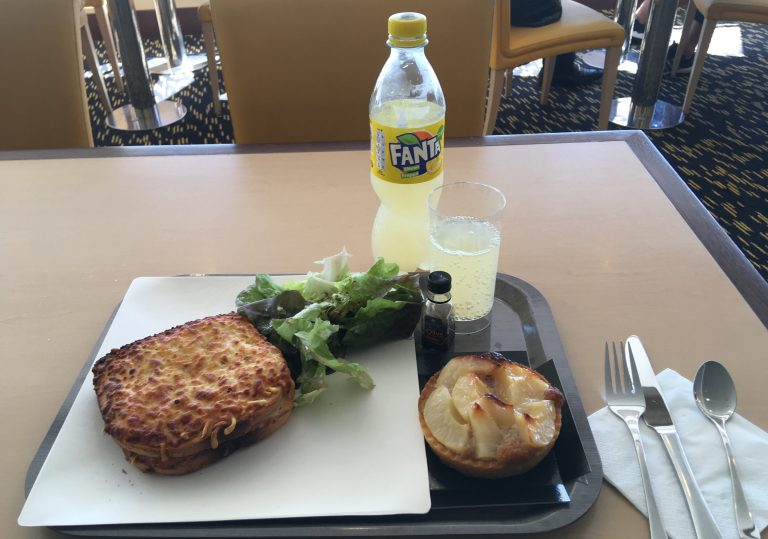 Breakfast Portsmouth - Santander M/V Pont Aven (Brittany Ferries)