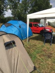 Unser idylischer Zeltplatz