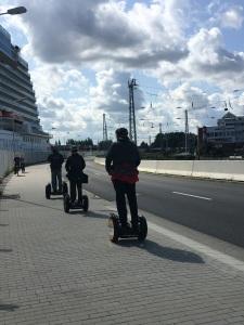 Segway-Touren sind unvermeidliche Begleiterscheinungen des modernen Kreuzfahrttourismus