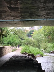 Brücke über den Cheonggycheong in Seoul