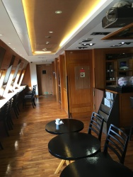 Cruise Zone Lounge The Paradise on passenger ferry Panstar Dream (Busan-Osaka)