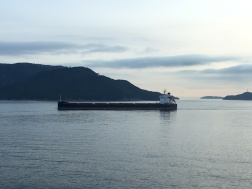 Tanker on Seto Inland Sea