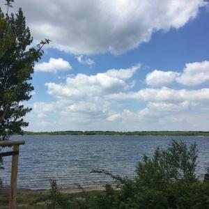 Lake Cospuden (near Leipzig, Saxony)