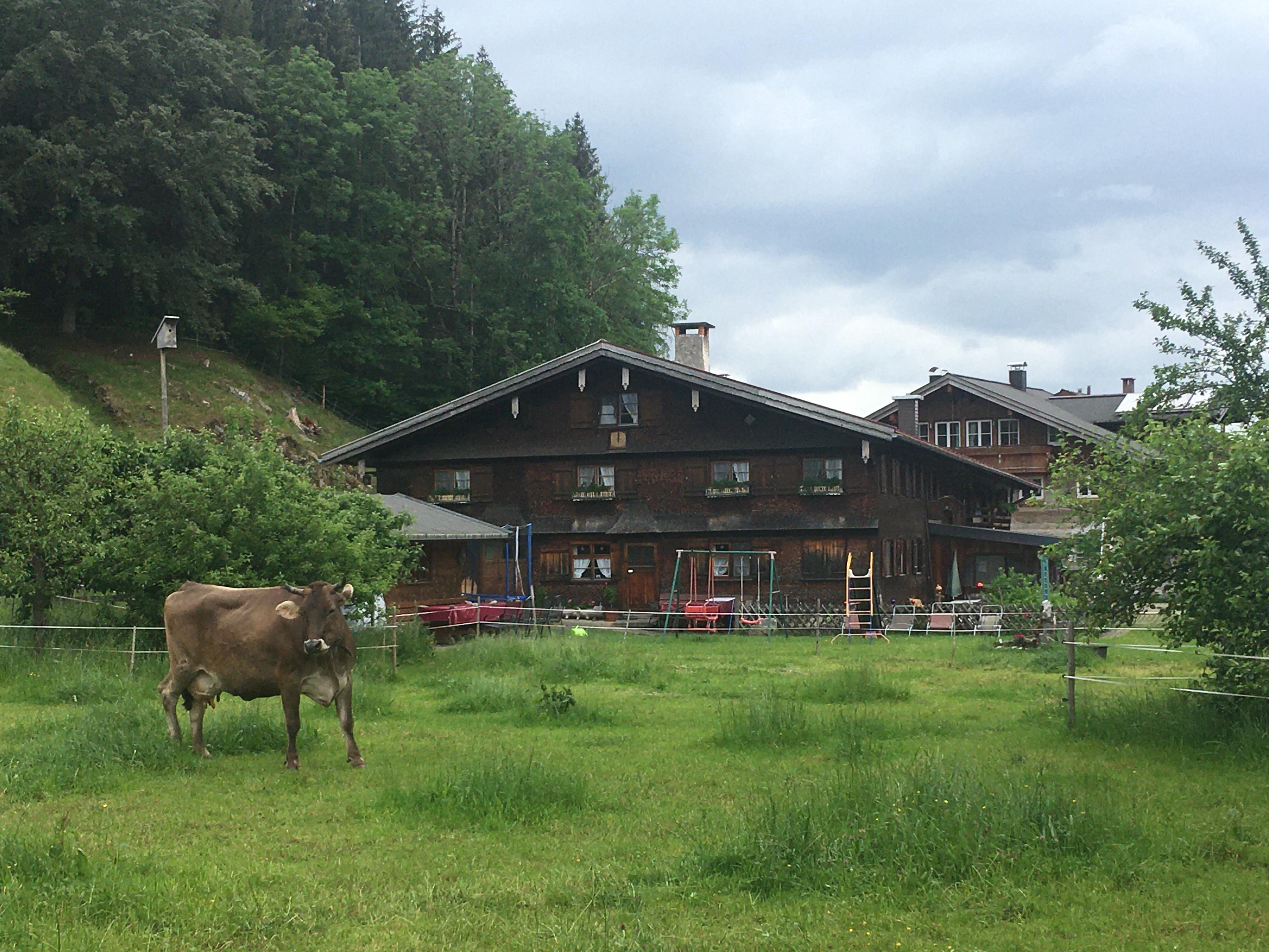Bauernhaus in Langenwang bei Fischen i. Allgäu